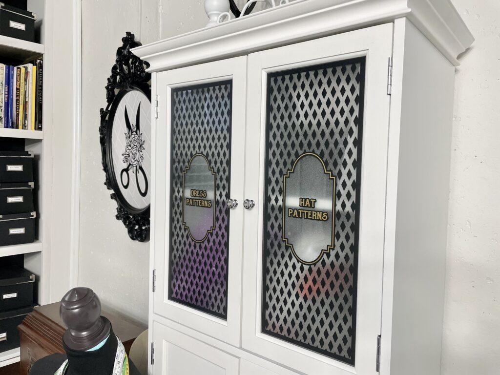 more pattern storage linen cabinet